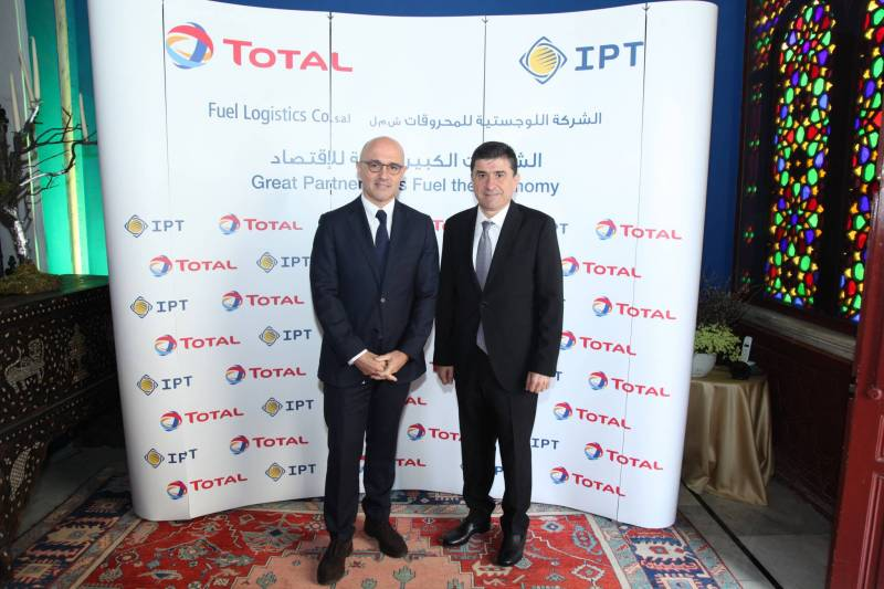 Total Liban et IPT ont annoncé la création d'une société d'importation commune baptisée Fuel Logistics Co