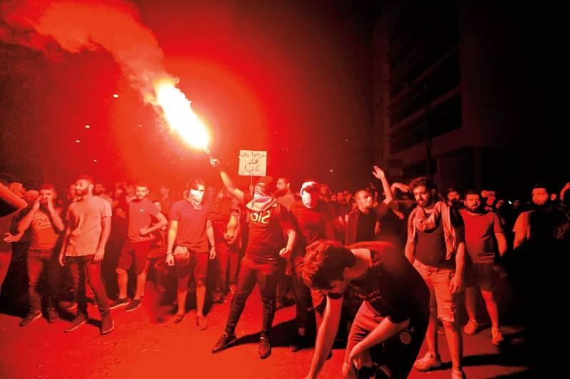 La corruption de la classe politique est l'un des principaux reproches adressés au gouvernement par le mouvement de contestation le 17 octobre.