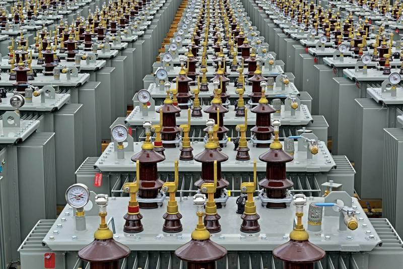 Les transformateurs de Matelec dans leur usine à Gherfine.