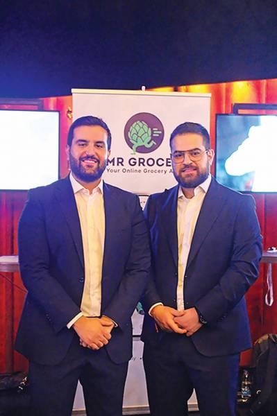 Les frères Omar et Makram Osman