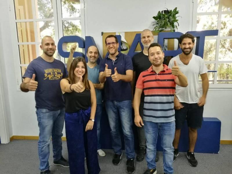 Les équipes des quatre start-ups libanaises choisies pour une immersion aux Etats-Unis