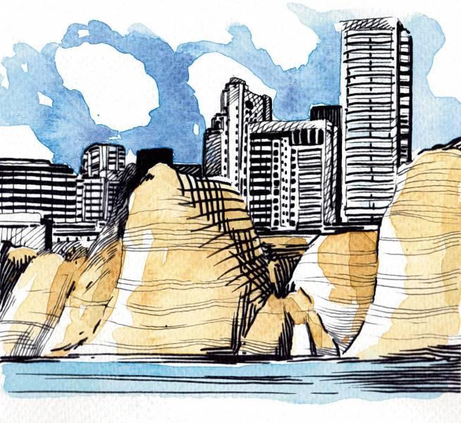 Près de 1,5 milliard de dollars d'invendus à Ras Beyrouth