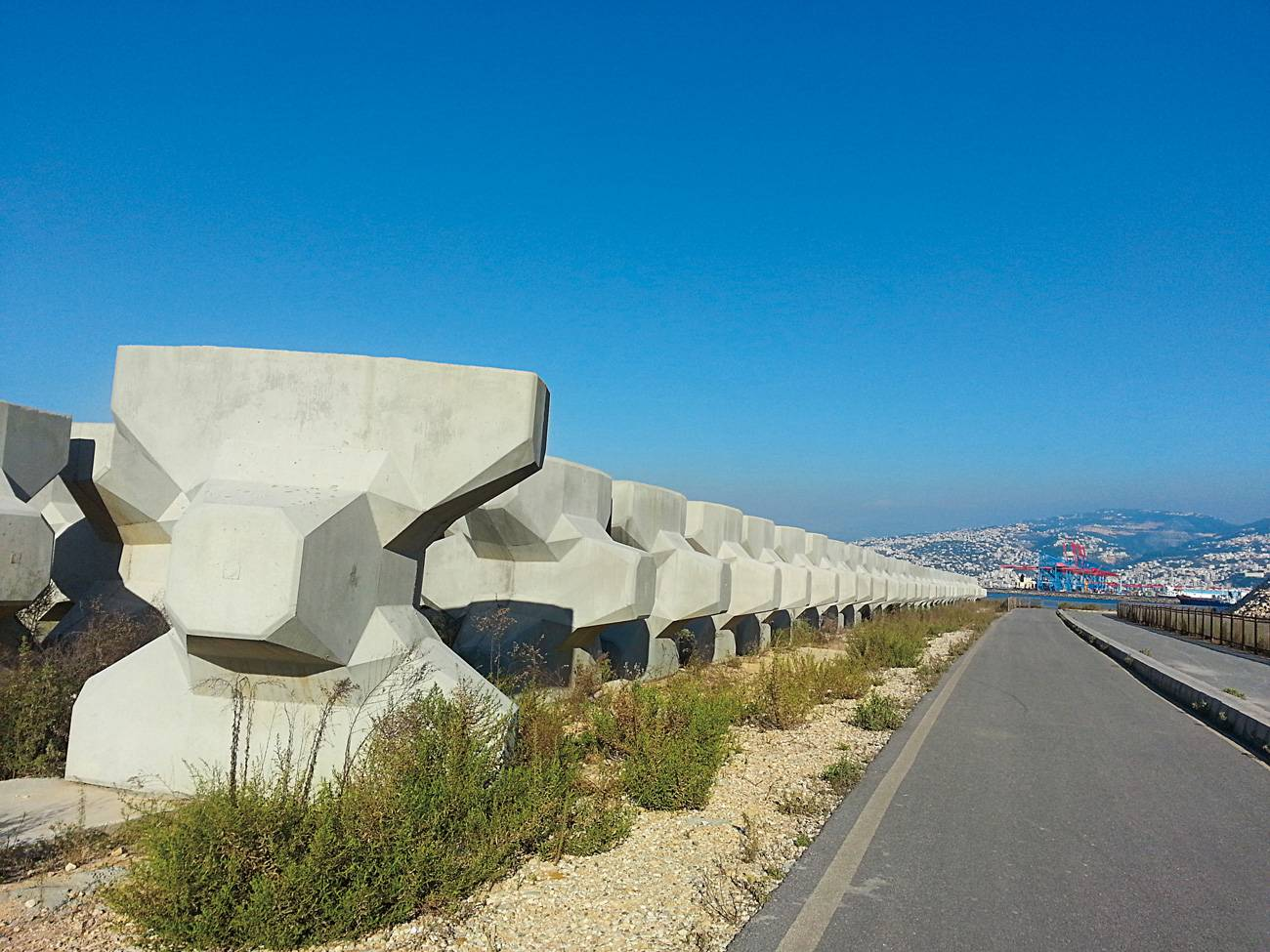 Le zone du remblai du Normandy devient parmi les moins chères de Beyrouth