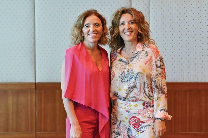 Les deux soeurs dirigent ensemble depuis vingt ans Robinson Agri. Roula el-Khoury en est la directrice financière et Nadine el-Khoury-Kadi la boss de la recherche et du développement.
