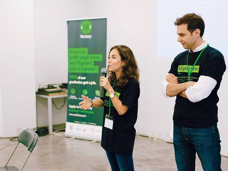 Zeina Saab et Fadi Bizri, fondateurs de SE Factory
