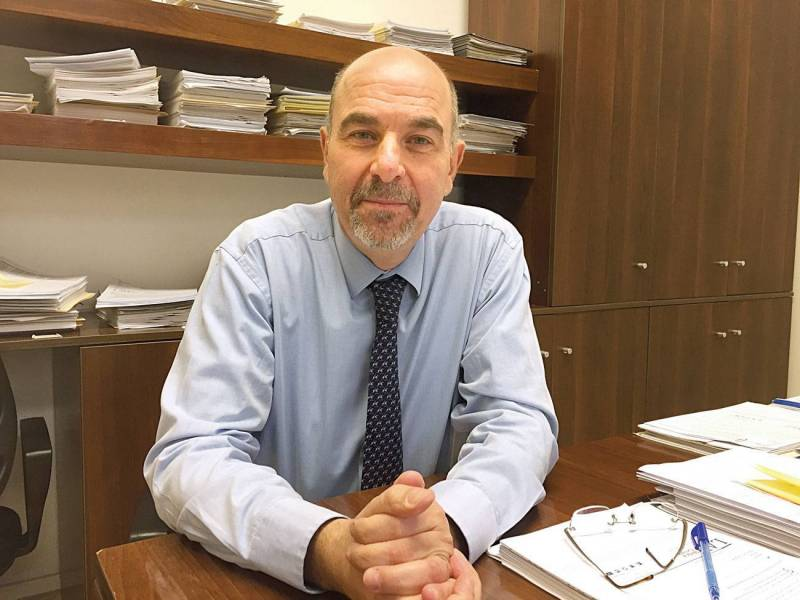 Sami Rizk, le directeur exécutif du Lebanese American University Medical Center – Rizk Hospital