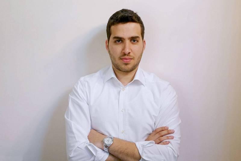 Samy el-Khoury, étudiant et chef d'entreprise