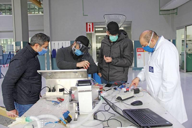 """Technica s'est lancé dans la conception d'un prototype de respirateur """"Made in Lebanon""""."""