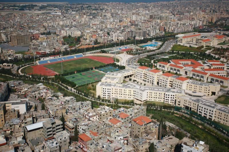 L'Université libanaise accueille 80.000 étudiants repartis dans 19 facultés et instituts, ici le campus Hadeth