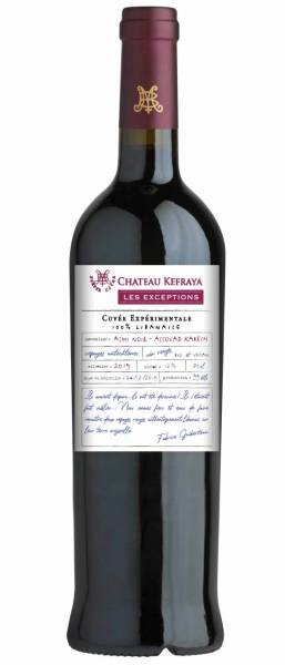 Château Kefraya  a mis en bouteille ce 100 % Assouad Kerach