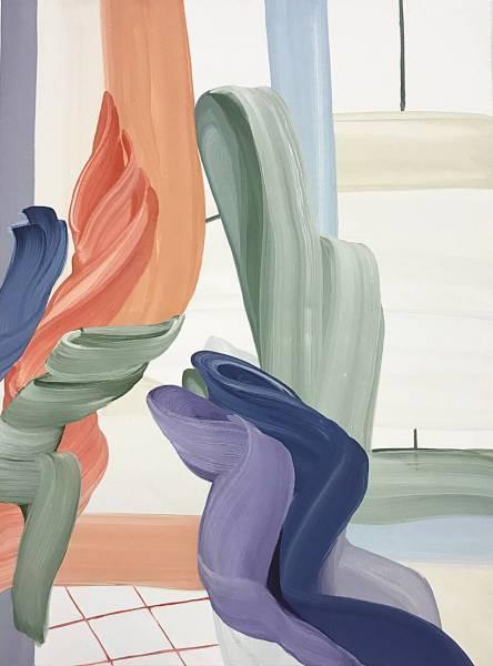 Whisper-.-eggtempera-on-canvas-.-80x60xm