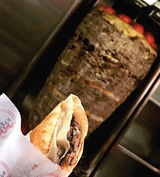 Le shawarma de Barbar