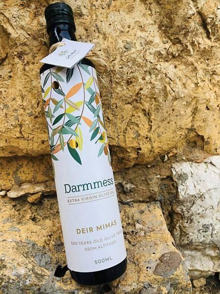 Cette huile d'olive est fabriquée à partir d'olives vertes.