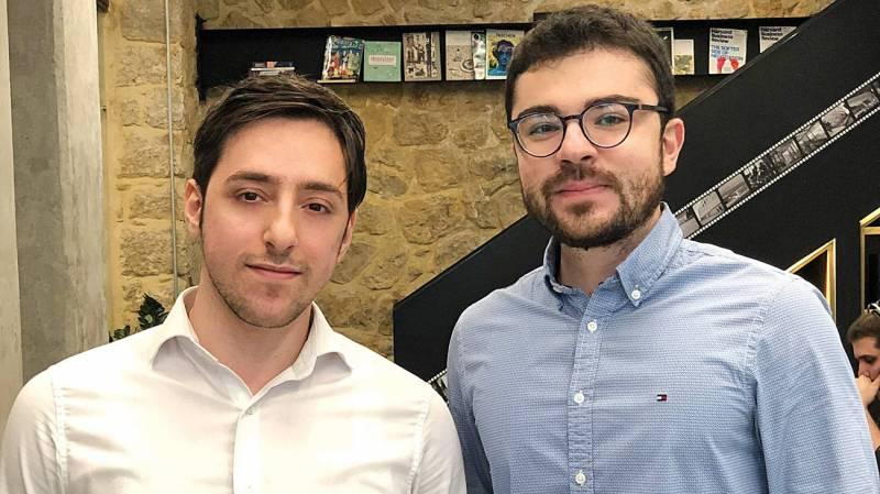 Joseph Hajjar (gauche) et Marc Ibrahim (droite)