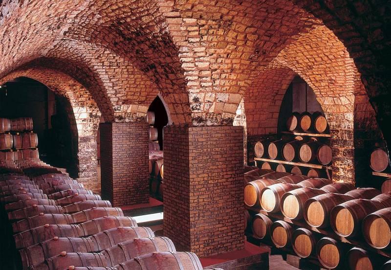 Les caves de Château Musar