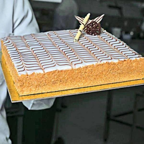 Le mille-feuille de Pâte à Choux.