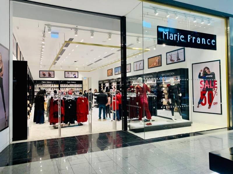 Marie France a inauguré sa première boutique en Égypte le 25 janvier.