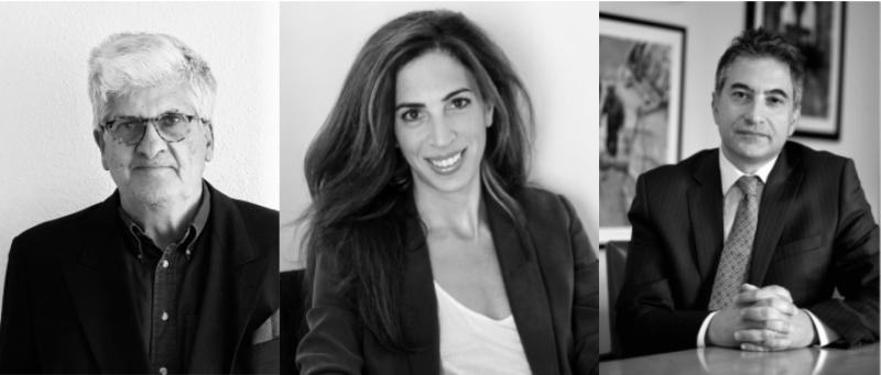 Bertrand du Pasquier, Zena Wakim, et Walid Sinno font partie du Conseil d'administration d'Accountability Now