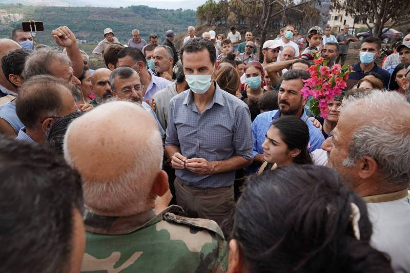 Selon Bachar el-Assad, entre 20 et 42 milliards de dollars de dépôts syriens sont bloqués au Liban.