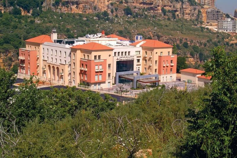 Le centre médical Bellevue a ouvert en 2009 près de Mansourié, dans le Metn.