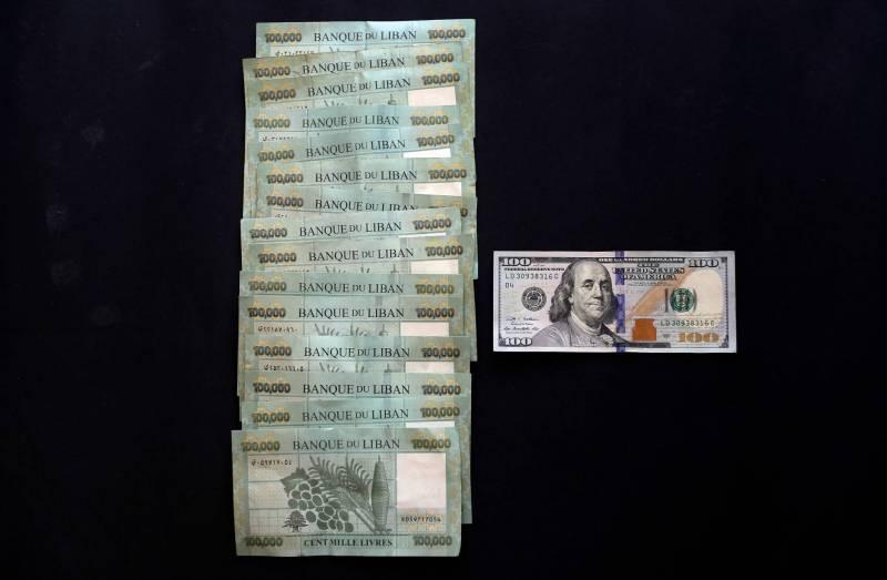 Avec un dollar à 15.000 livres, un dollar «bancaire» vaudra environ 0,23 cents cash, soit 23% de la somme initiale, avec un «haircut» de 77%.