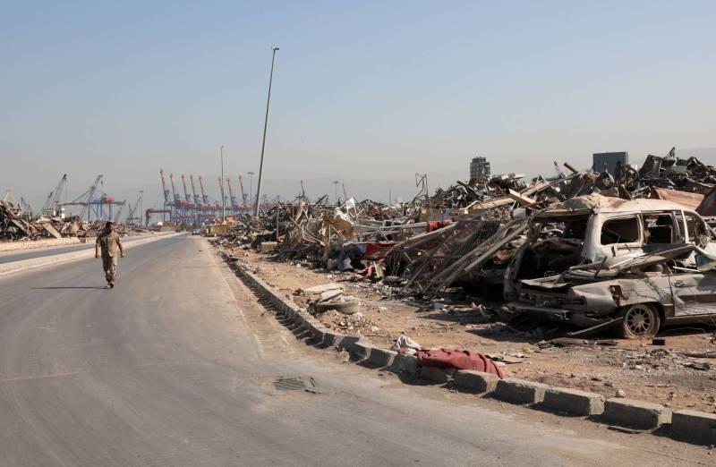 Port de Beyrouth: la reconstruction tributaire de la mainmise politique