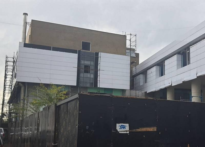 À l'Hôpital gouvernemental de la Quarantaine, qui a subi des dégâts estimés à presque cinq millions de dollars, la majorité de cette somme a déjà été récoltée.
