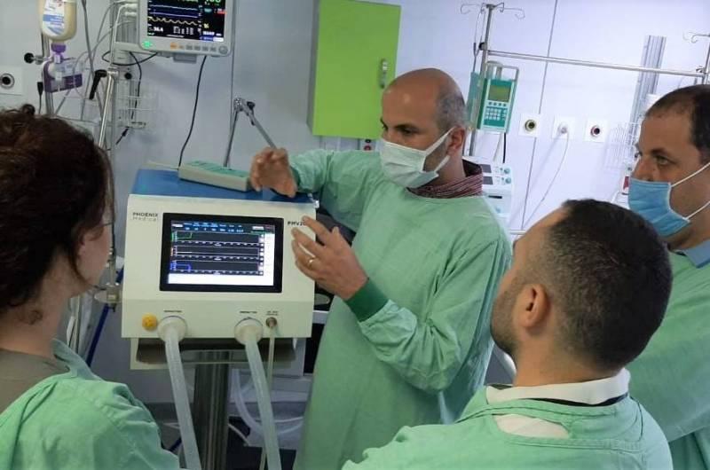 Les premiers respirateurs libanais débarquent dans les hôpitaux