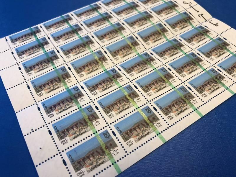EditInk a remporté le contrat pour la production de 163 millions de timbres. P.H.B