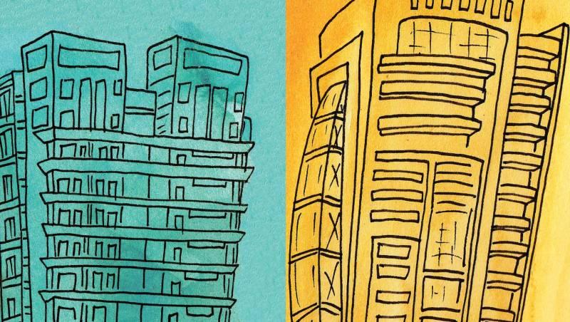 Chaque propriétaire applique son propre taux de conversion entre lollars et dollars, ce qui se traduit par des différences de prix très importantes parfois au sein d'un même immeuble.