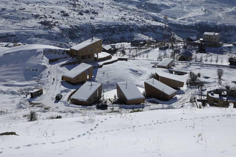 À Kfardebian, l'engouement pour les chalets et les terrains a provoqué une forte hausse des prix.