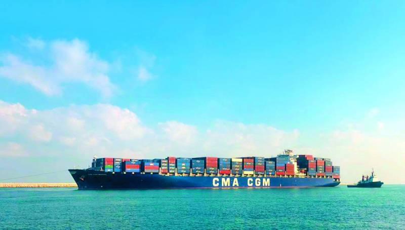 CCMA CGM truste environ 50% de l'activité containers au niveau des deux ports nationaux: la compagnie a ainsi augmenté son offre de containers de plus de 8%.