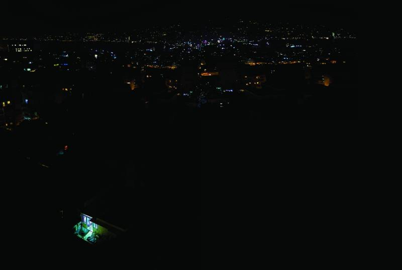 Le Liban plongé dans le noir.
