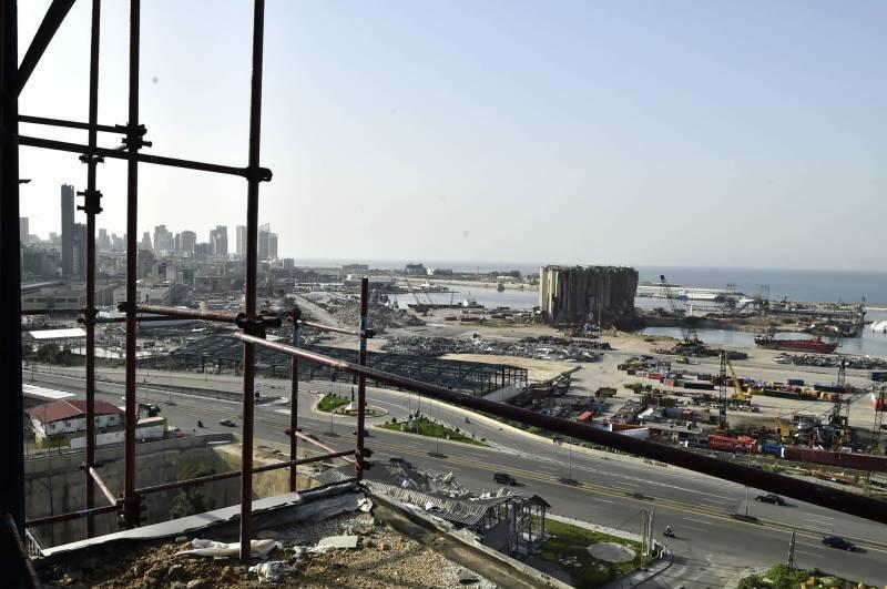 Six mois après la double explosion du 4 août, la désolation règne encore dans la zone des trois kilomètres autour du Port.