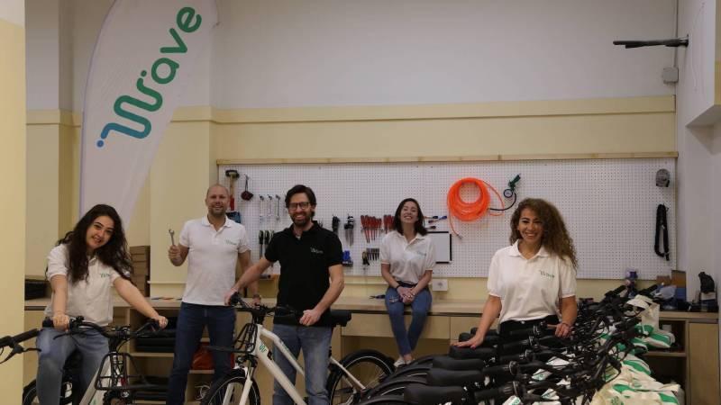 Wave souhaite étendre sa flotte à plus de 1000 vélos d'ici 2022.