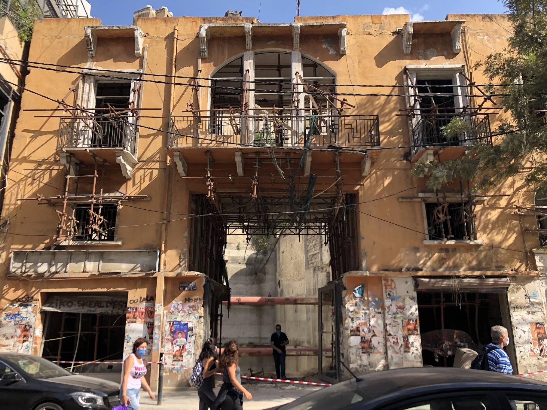 Dans les quartiers sinistrés de Beyrouth, l'immobilier suscite déjà l'intérêt des acheteurs