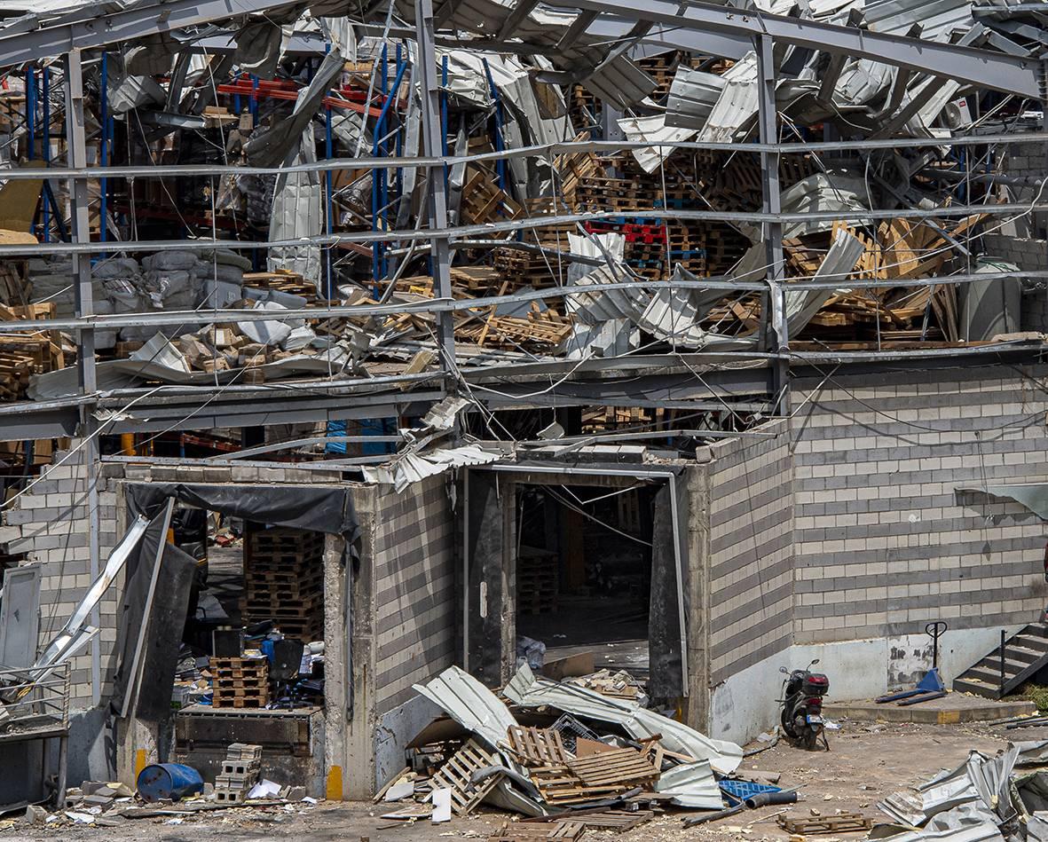Le français Recygroup chargé de proposer une solution pour traiter les déchets au port de Beyrouth