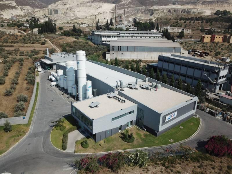 Le centre de stockage de gaz et de remplissage de Soal à Chekka.