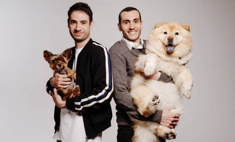 Andrew Malek (gauche) et Marc Atiyeh (droite), les deux cofondateurs libanais de Pawp.